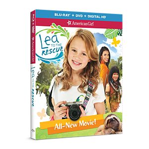 Lea to the Rescue Two-Disc Blu-ray/DVD Combo Pack
