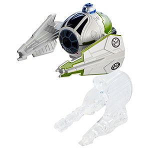 Hot Wheels®  Star Wars™ Starship Yoda's Starfighter (Clone Wars)