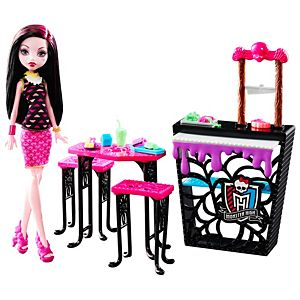 Monster High® Beast Bites Cafe™ Draculaura® Doll & Playset