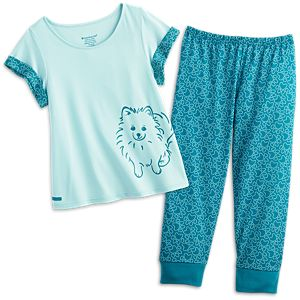 Pomeranian Pajamas for Girls