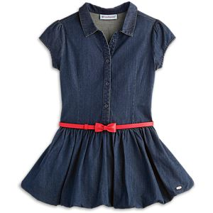 Indigo Bubble Dress for Girls