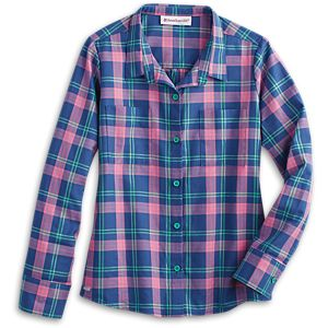 Pretty Plaid Shirt for Girls
