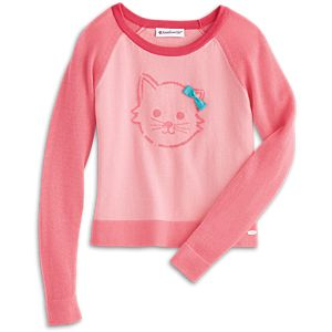 Kitten Sweater for Girls