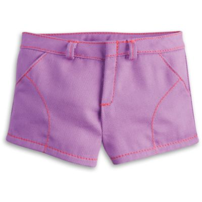 Purple Play Shorts for Dolls | Truly Me | American Girl