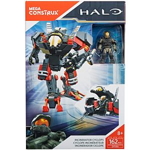 Mega Bloks Halo Incinerator Cyclops Building Kit