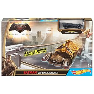 Hot Wheels® Batman V Superman™ Batman™ Zip-Line Launcher