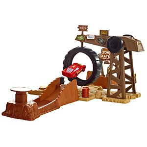 Disney Cars Story Sets Mater's Challenge Playset