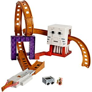 Minecraft® Hot Wheels® Ghast Attack Track™ Playset