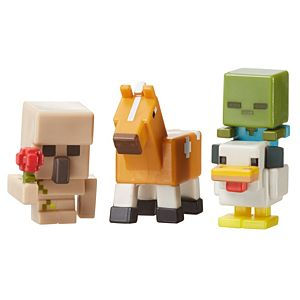 Minecraft Mini-Figure 3-Pack