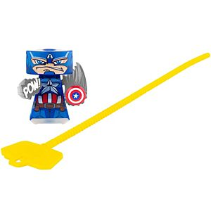 VS Rip-Spin Warriors™ Captain America™ Warrior Single