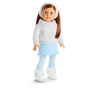 Enchanting Winter Outfit for 18-inch Dolls