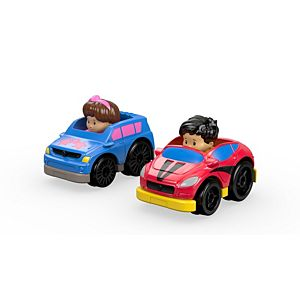 Little People® Pick-up Truck & Rally Car