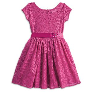 Merry Magenta Dress for Girls