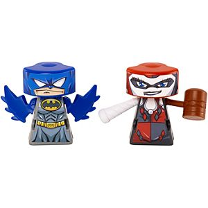 VS Rip-Spin Warriors™ Batman™ Vs. Harley Quinn™ 2 Pack