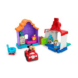 Magic of Disney Mickey & Goofy's Gas and Dine Playset by Little People®
