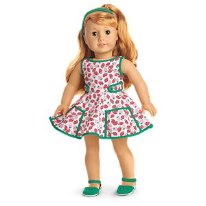 Maryellen's Strawberry Outfit for 18-inch Dolls