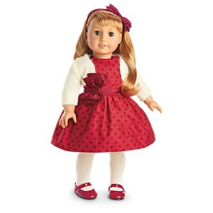 Maryellen's Christmas Party Outfit for 18-inch Dolls