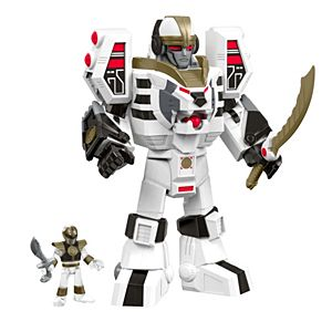 Imaginext® Power Rangers White Ranger & Warrior Mode Tigerzord