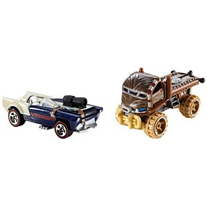 Hot Wheels® Star Wars™ 2 Car Pack - Chewbacca™ and Han Solo™