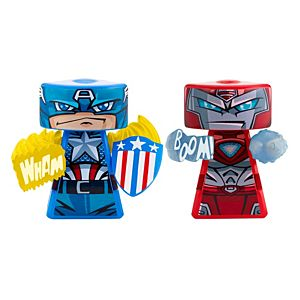 VS Rip-Spin Warriors™ Captain America And Iron Man 2 Pack