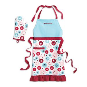 American Girl for Williams-Sonoma Adult Apron & Mitt