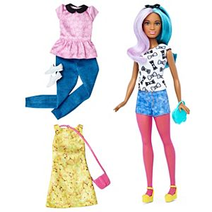Barbie® Fashionistas® 42 Blue Violet Doll & Fashions - Petite