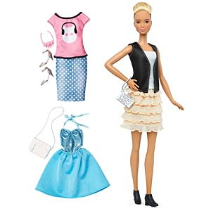 Barbie® Fashionistas® 44 Leather & Ruffles Doll & Fashions - Tall