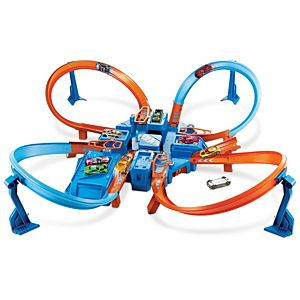 Hot Wheels® Criss Cross Crash™ Track Set