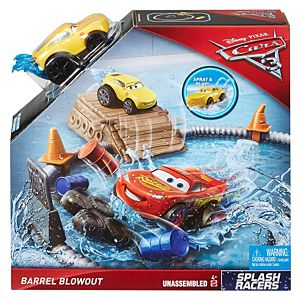 Disney•Pixar Cars 3 Splash Racers Barrel Blowout Playset