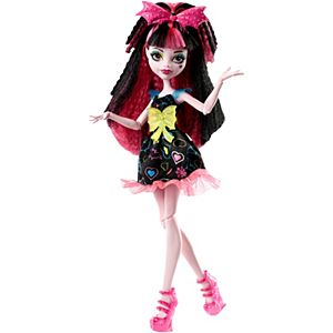 Monster High® Electrified Hair-Raising Ghouls™ Draculaura® Doll