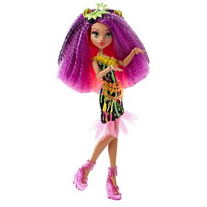 Monster High® Electrified Monstrous Hair Ghouls™ Clawdeen Wolf® Doll