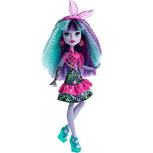 Monster High® Electrified Monstrous Hair Ghouls™ Twyla® Doll