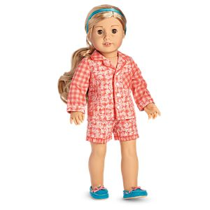 Tenney's Gingham Pajamas for 18-inch Dolls