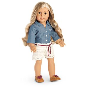 Tenney's Picnic Outfit for 18-inch Dolls