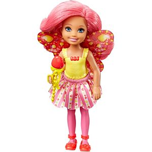 Barbie™ Dreamtopia Small Fairy Doll Gumdrop Theme