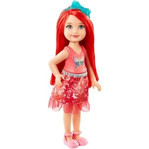 Barbie™ Dreamtopia Red Rainbow Cove™ Chelsea Sprite Doll