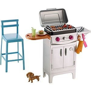 Barbie® Barbeque & Puppy Playset