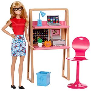 Barbie® Doll & Home Office Set