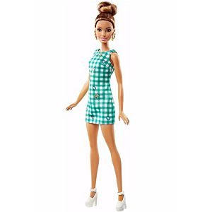 Barbie Fashionistas Doll 50 Emerald Check Original