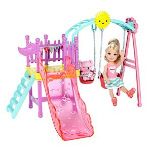 Barbie® Club Chelsea™ Doll and Swing Set