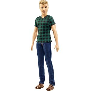 Ken® Fashionistas® Doll 4 Checked Style