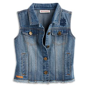 Denim Vest for Girls