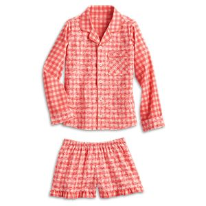 Tenney Grant's Gingham Pajamas for Girls