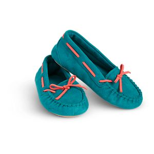 Tenney Grant's Moccasin Slippers for Girls