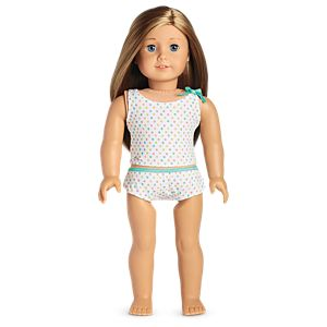 Just Dotty Tank & Brief Set for 18-inch Dolls