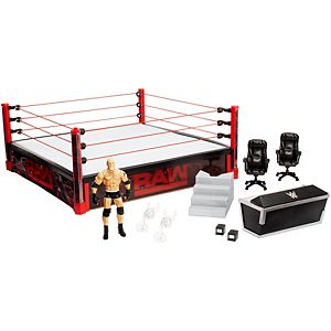 WWE® Raw® Main Event Ring