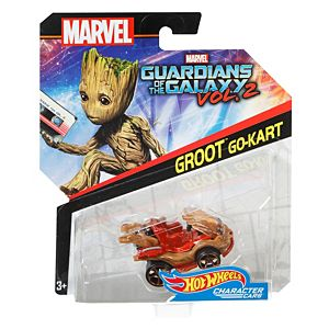Hot Wheels® Marvel Guardians Of The Galaxy Vol. 2 ™ Groot™ Go-Kart
