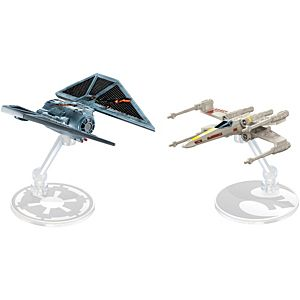 Hot Wheels® Star Wars™ TIE Striker™ vs. X-wing Fighter™ Red Five