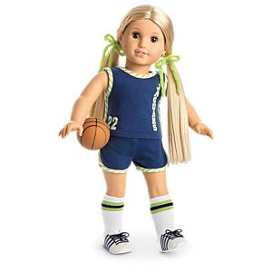 Julie's Basketball Uniform for 18-inch Dolls