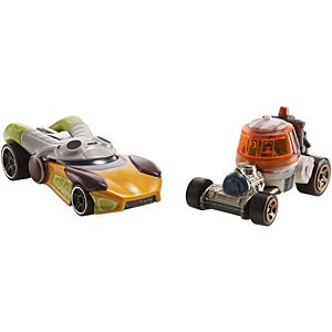 Hot Wheels® Star Wars™ Hera Syndulla™ & Chopper™ 2-Pack, vehicle